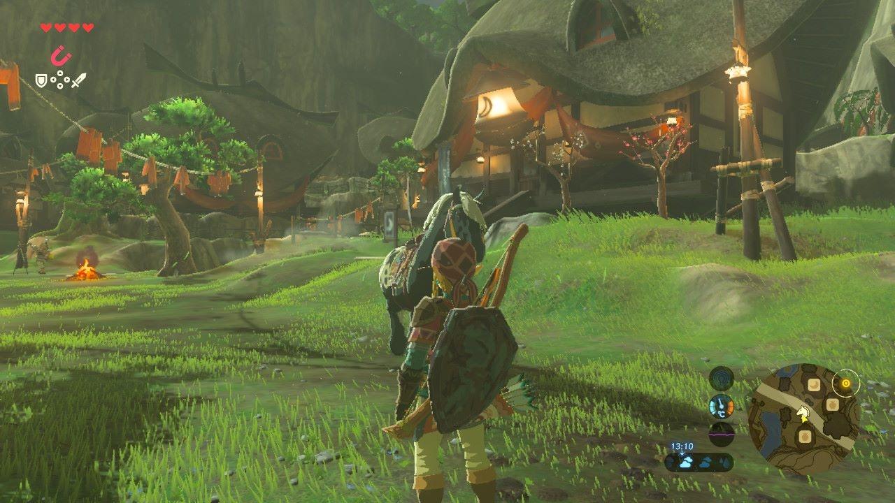The Legend of Zelda: Breath of the Wild - svobodně se nadechni 140240