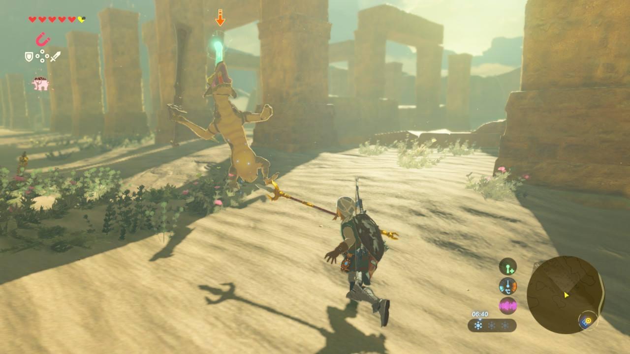 The Legend of Zelda: Breath of the Wild - svobodně se nadechni 140248