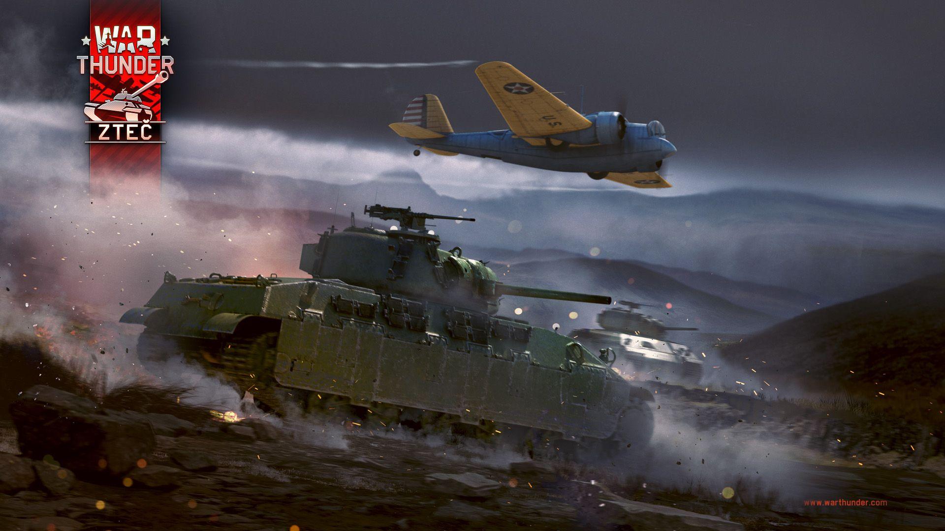 """Hráči War Thunder vyrážejí na """"Zteč"""" 140268"""