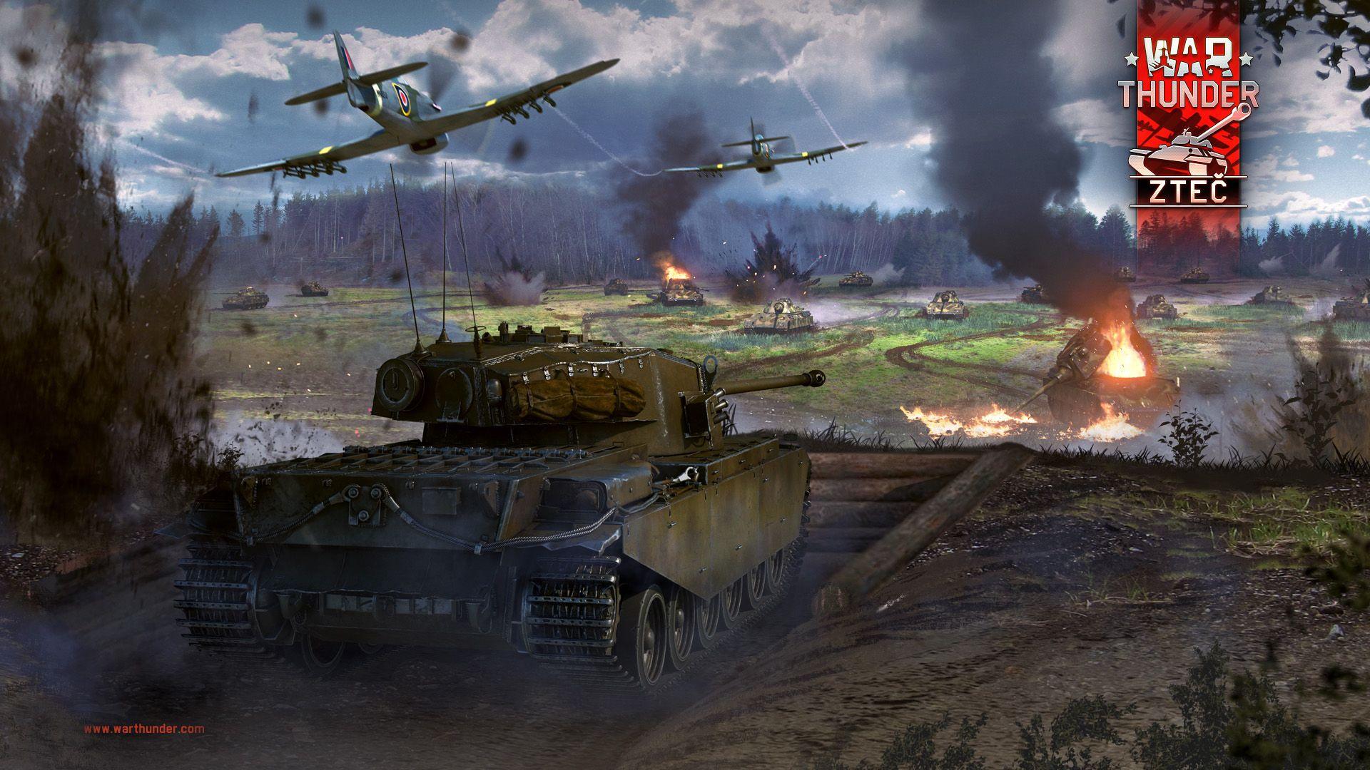 """Hráči War Thunder vyrážejí na """"Zteč"""" 140269"""