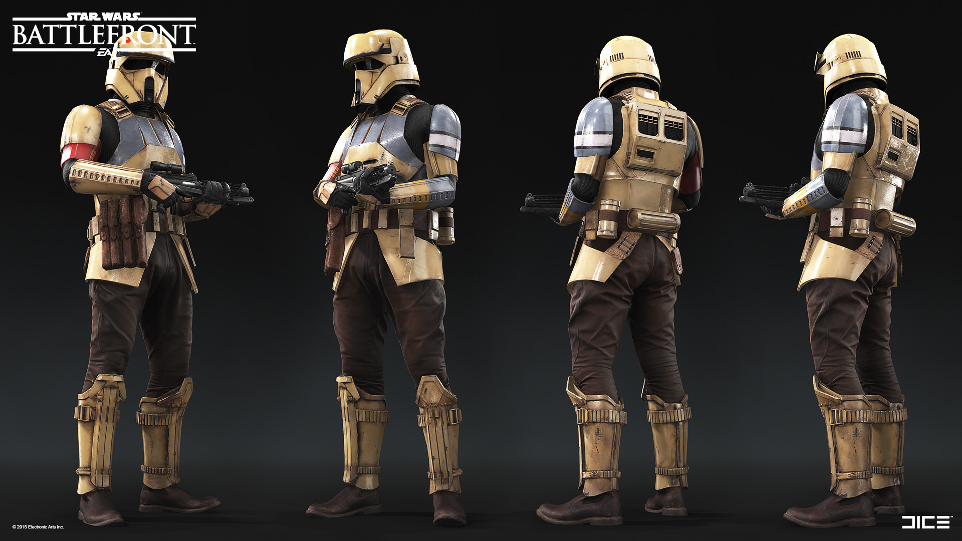 Koncepty z vývoje Star Wars: Battlefrontu ukazují některé nezrealizované prvky 140324