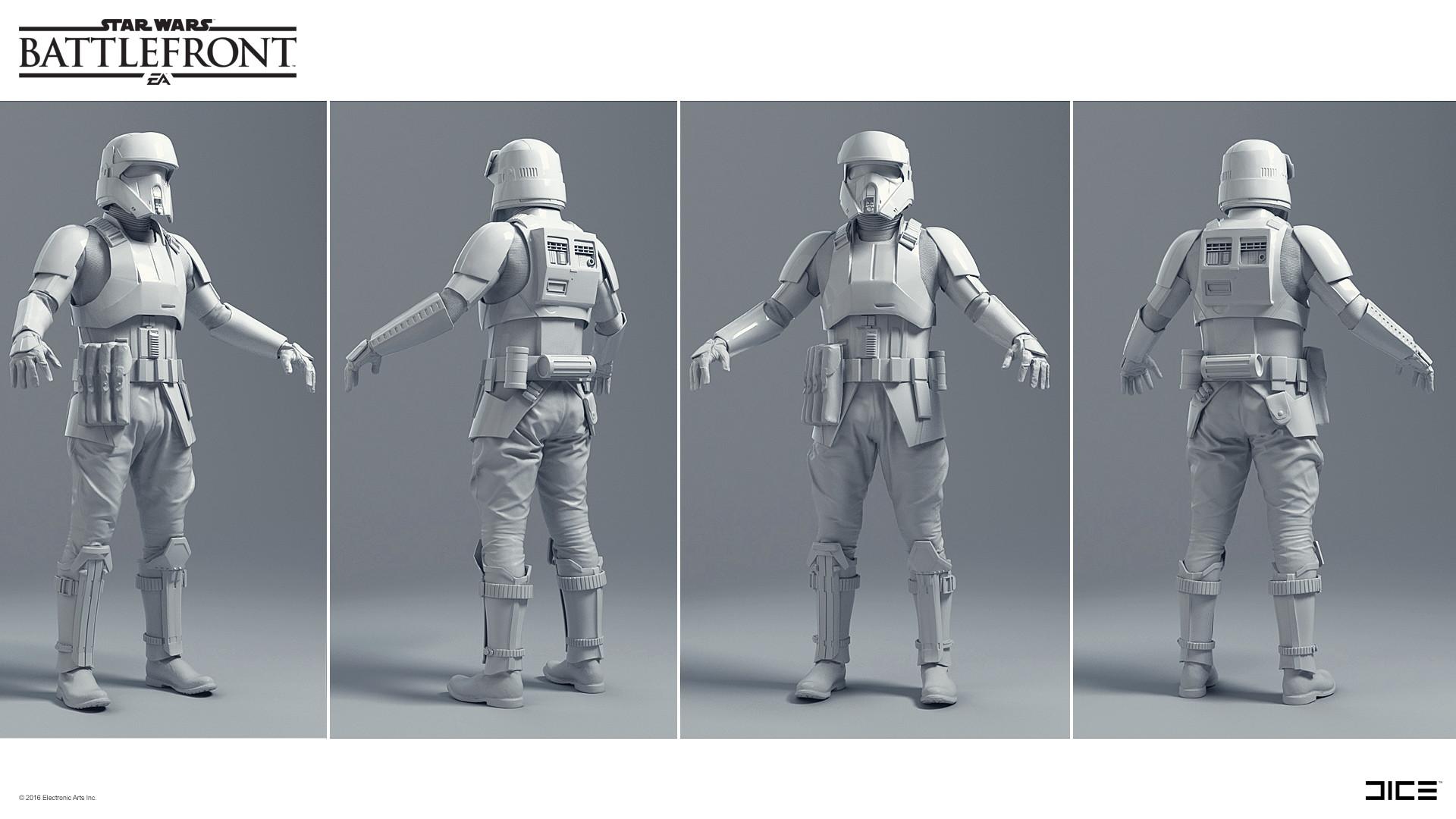 Koncepty z vývoje Star Wars: Battlefrontu ukazují některé nezrealizované prvky 140325