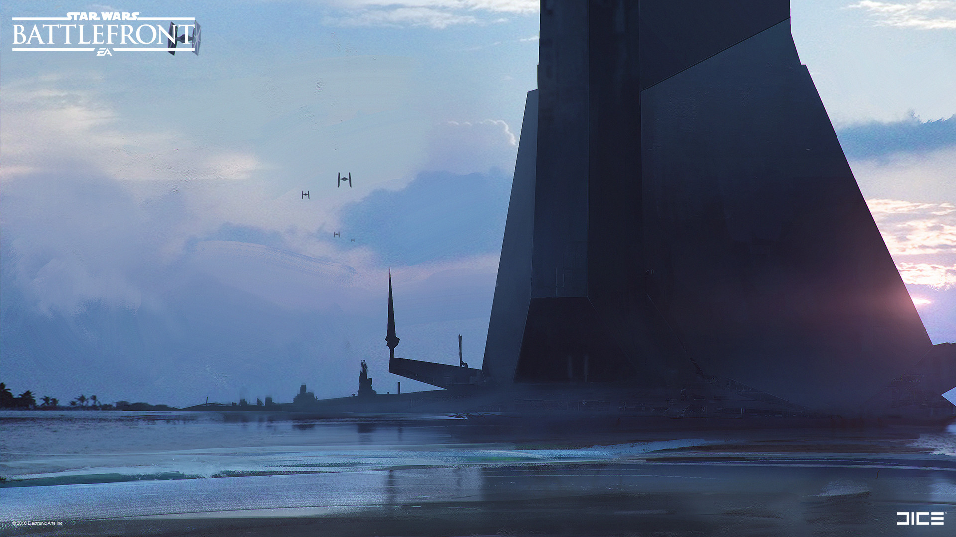 Koncepty z vývoje Star Wars: Battlefrontu ukazují některé nezrealizované prvky 140329