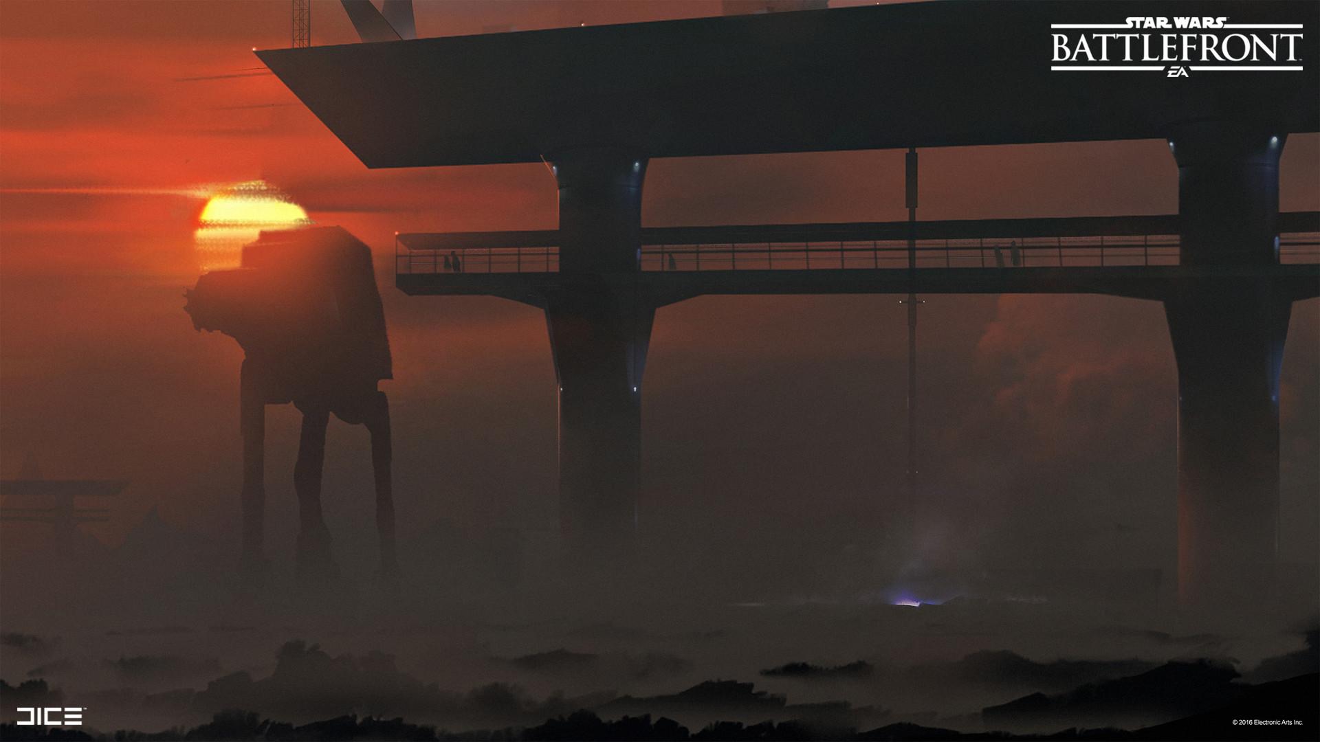 Koncepty z vývoje Star Wars: Battlefrontu ukazují některé nezrealizované prvky 140349