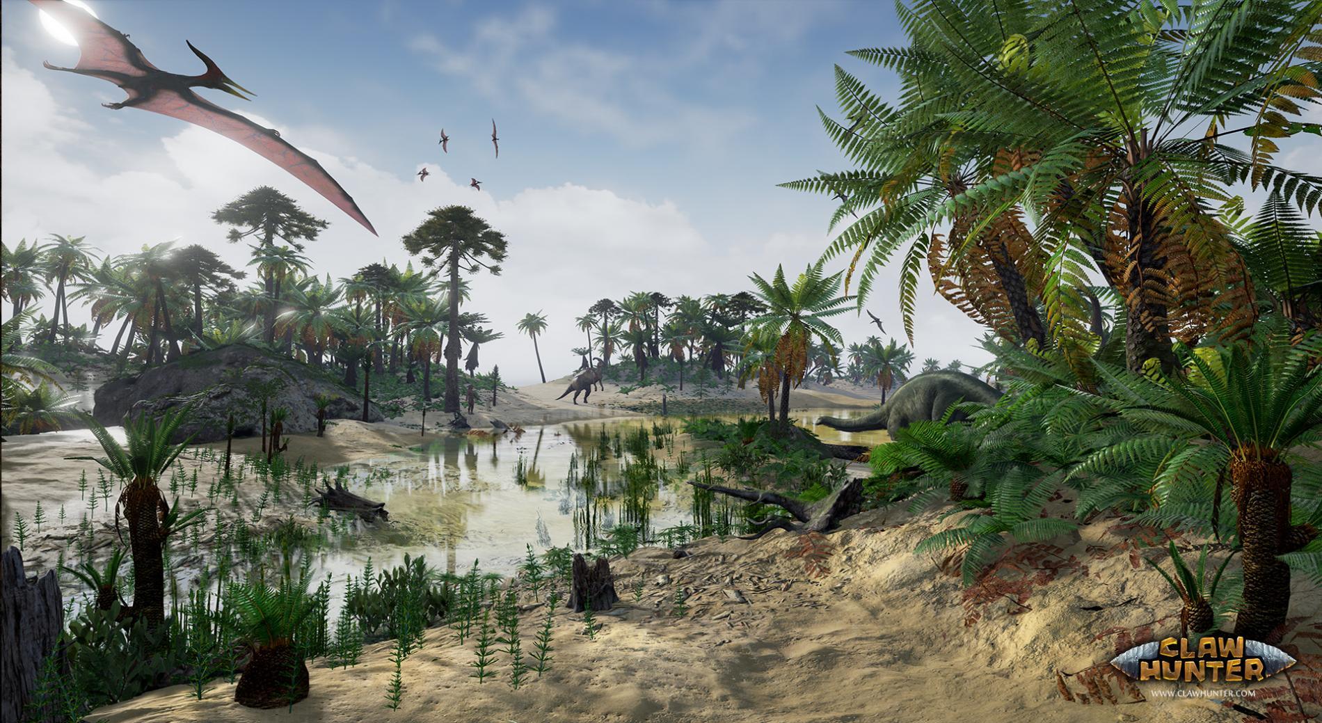 Claw Hunter od českých tvůrců přinese dinosaury 140405
