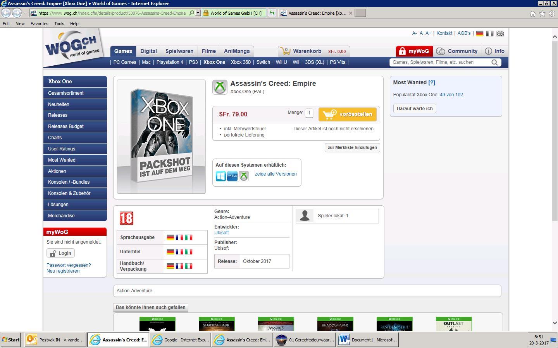 Letos v říjnu má vyjít Assassin's Creed: Empire 140410