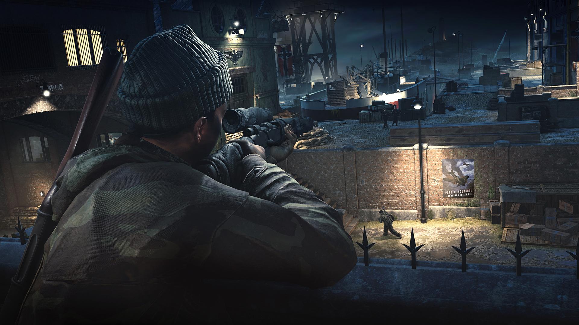 Hráči Sniper Elite 4 mohou koupit první mini-kampaň 140551