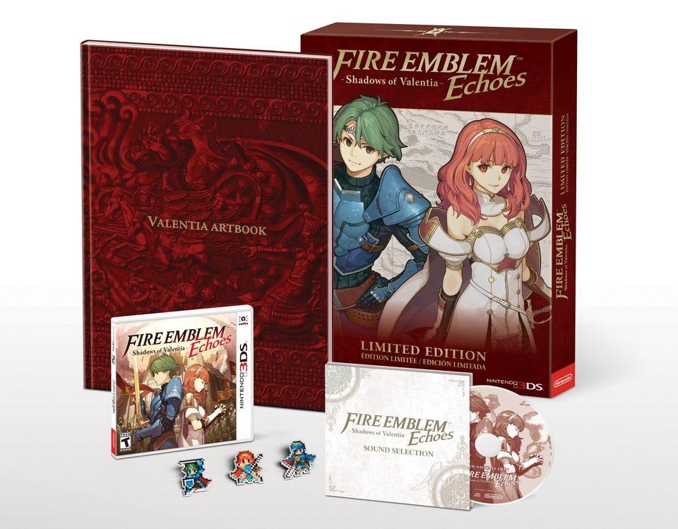 Limitované edice Fire Emblem Echoes: Shadows of Valentia 140573