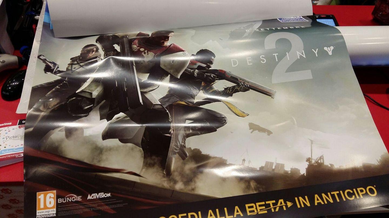Plakát Destiny 2 odhalil datum vydání a betu 140700