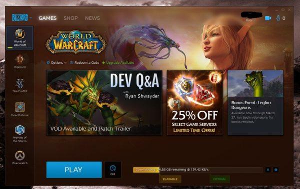 Battle.net je mrtev, místo něj je aplikace Blizzard 140885