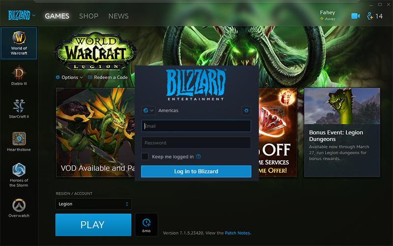 Battle.net je mrtev, místo něj je aplikace Blizzard 140886