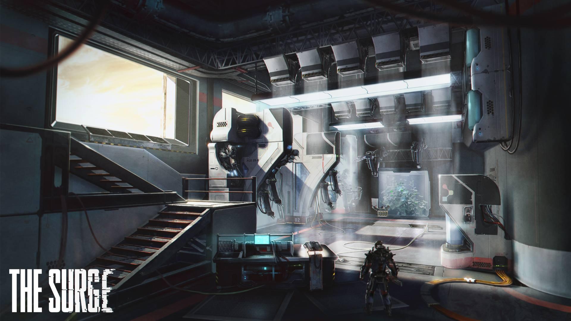 Obrazem: Prostředí v hardcore RPG The Surge 140974
