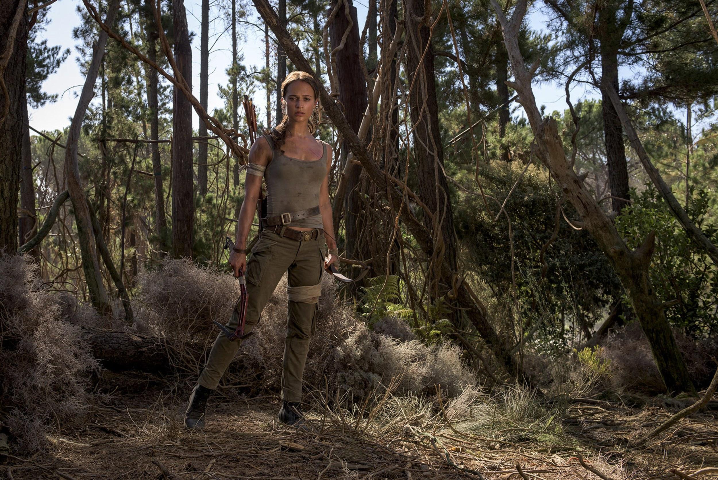 První fotografie z filmu Tomb Raider 141035