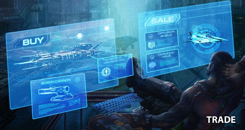Star Conflict představuje obchodování mezi hráči 141149