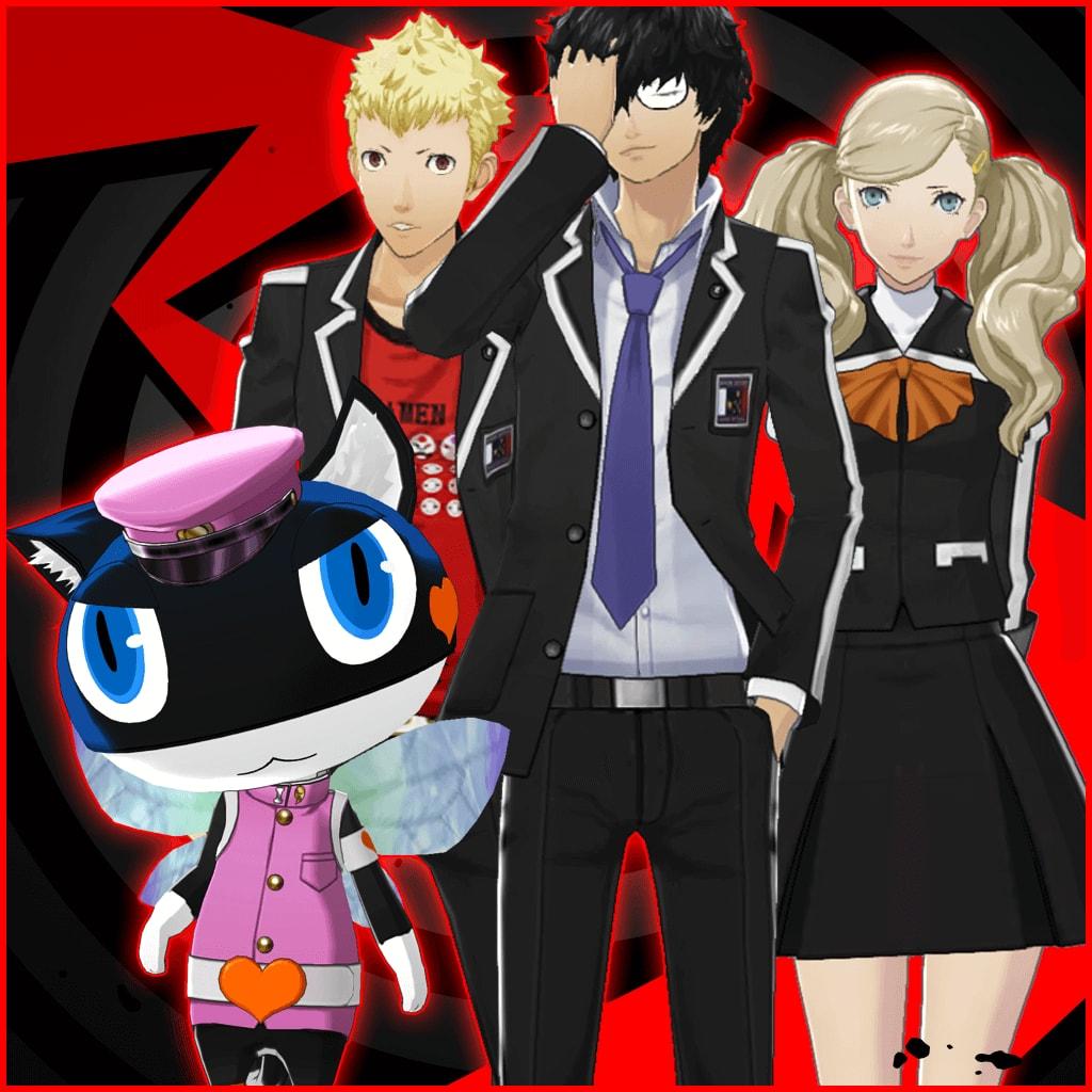Personu 5 rozšíří v den vydání velké množství DLC 141229
