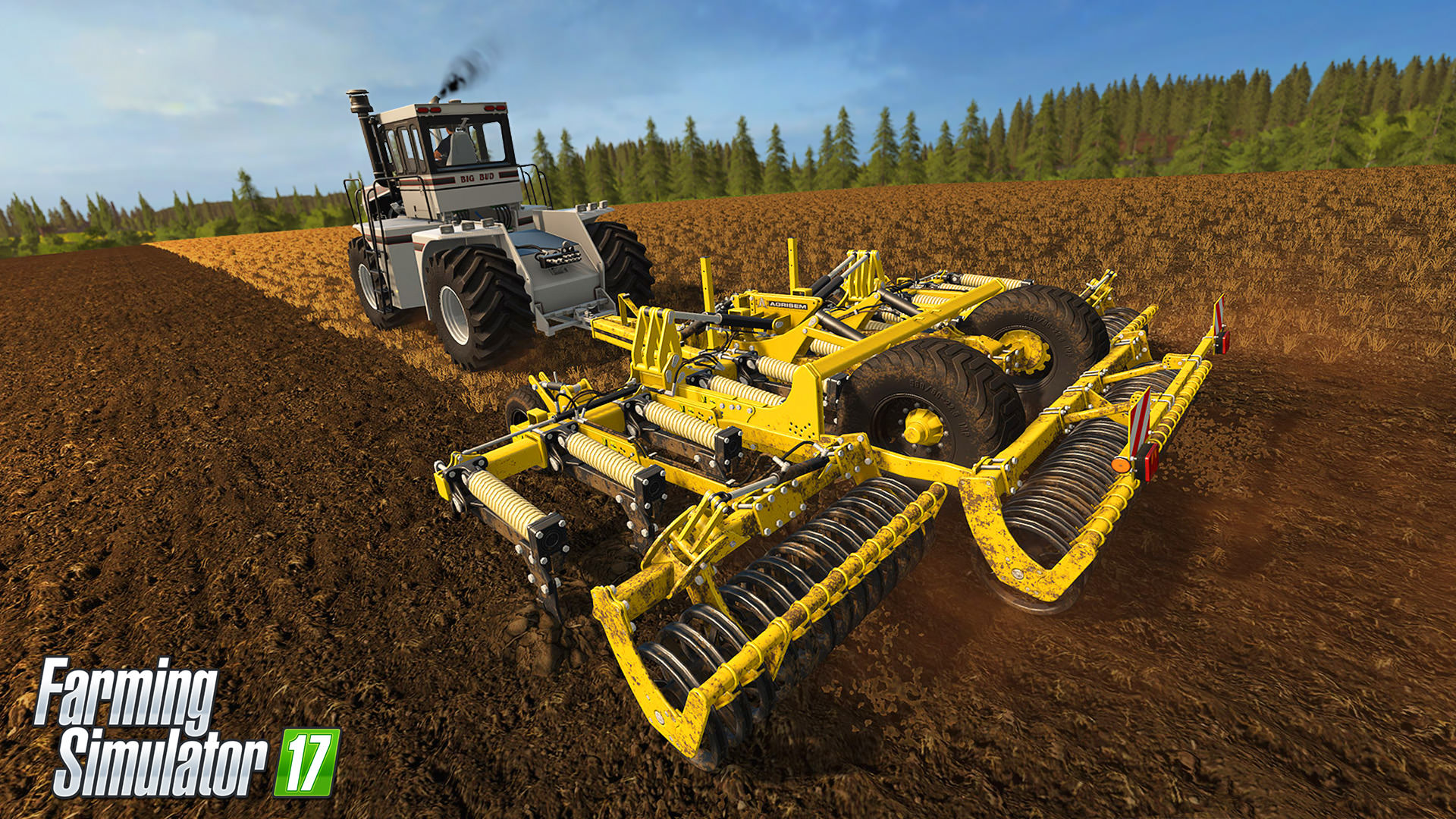Farming Simulator 17 rozšíří placený balíček s velkými stroji 141238