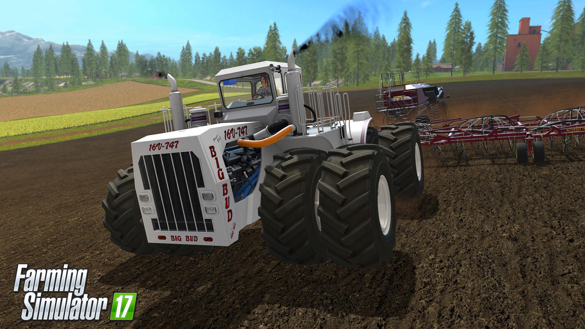 Farming Simulator 17 rozšíří placený balíček s velkými stroji 141239