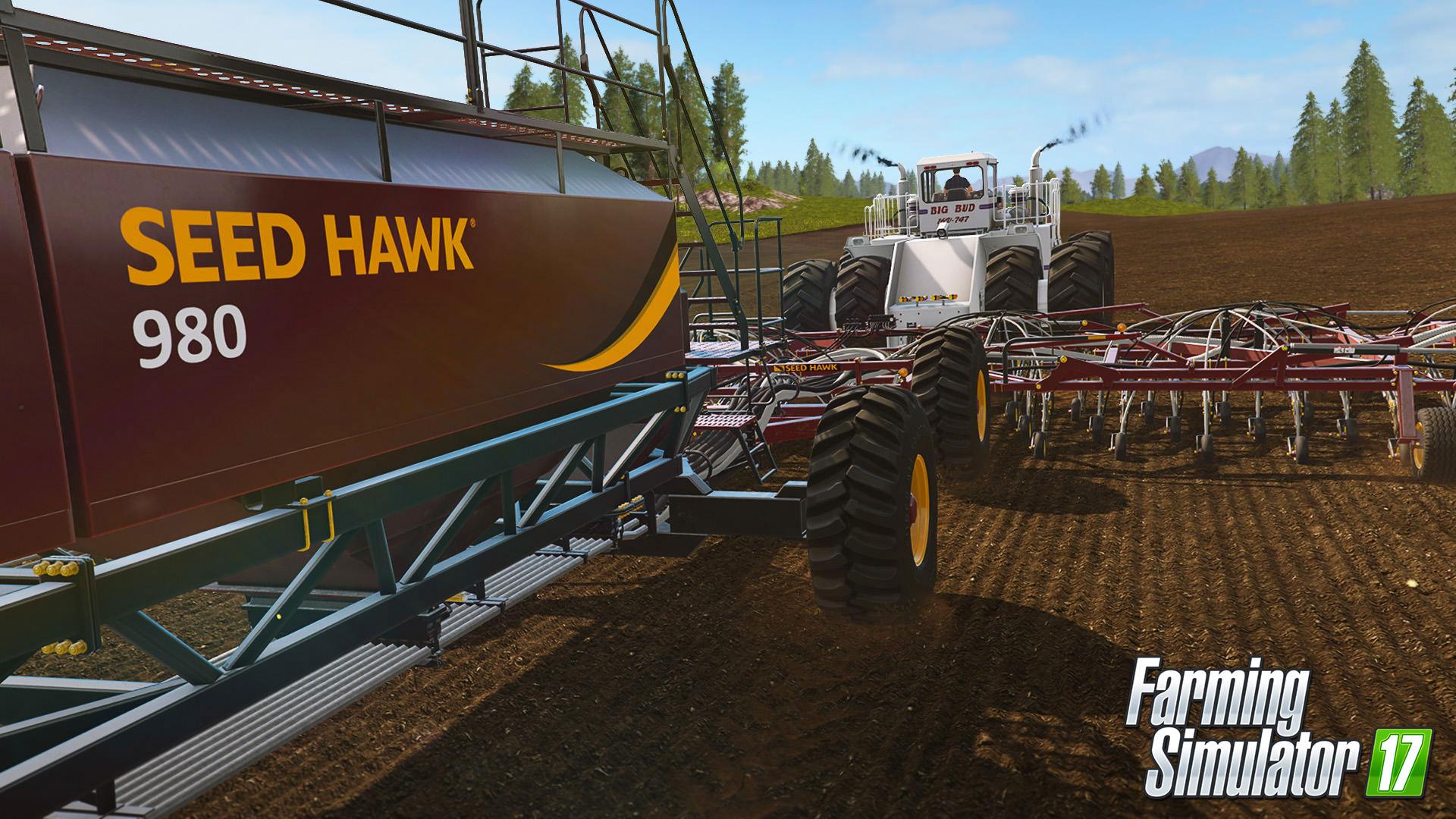 Farming Simulator 17 rozšíří placený balíček s velkými stroji 141240