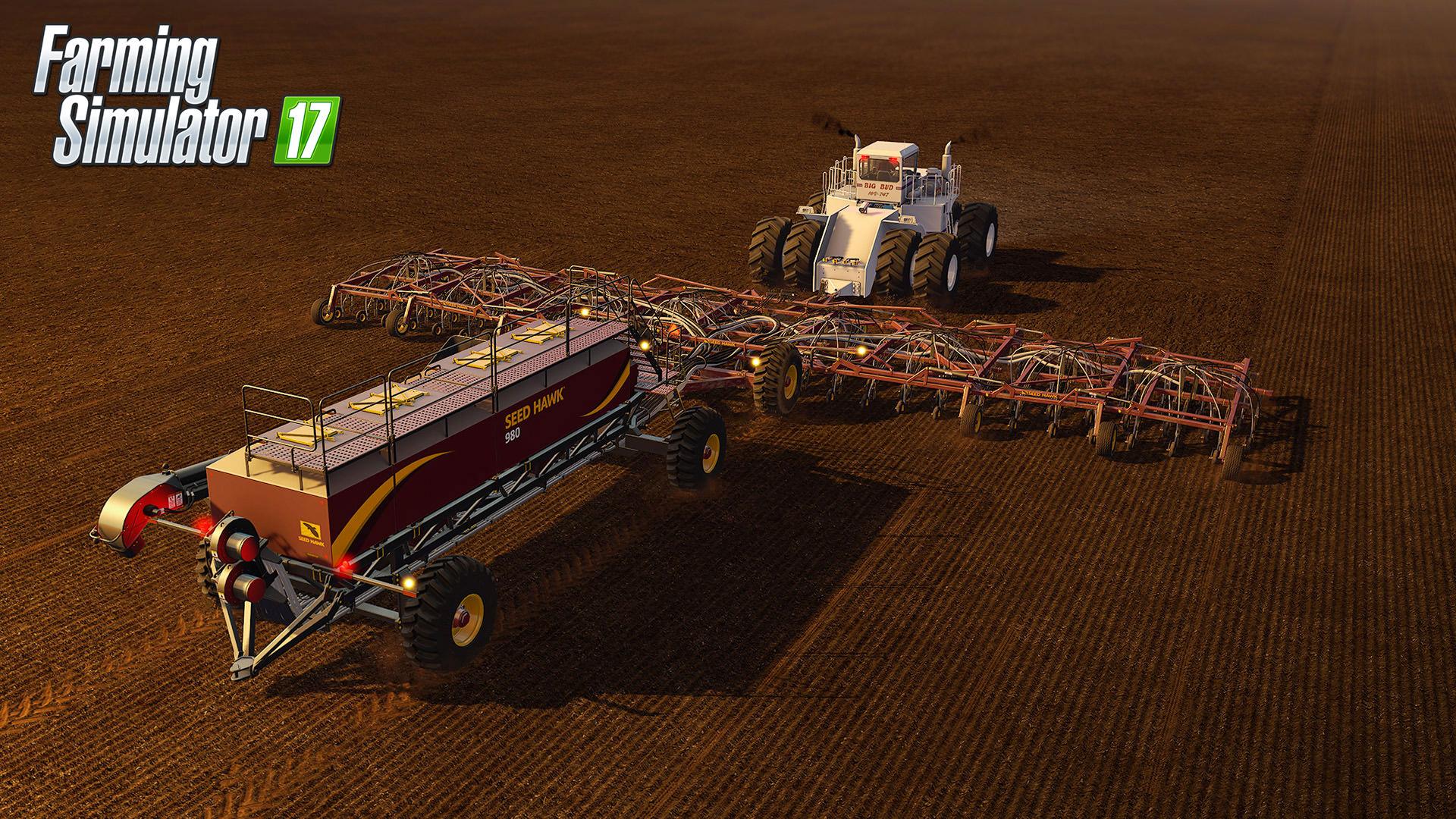 Farming Simulator 17 rozšíří placený balíček s velkými stroji 141241