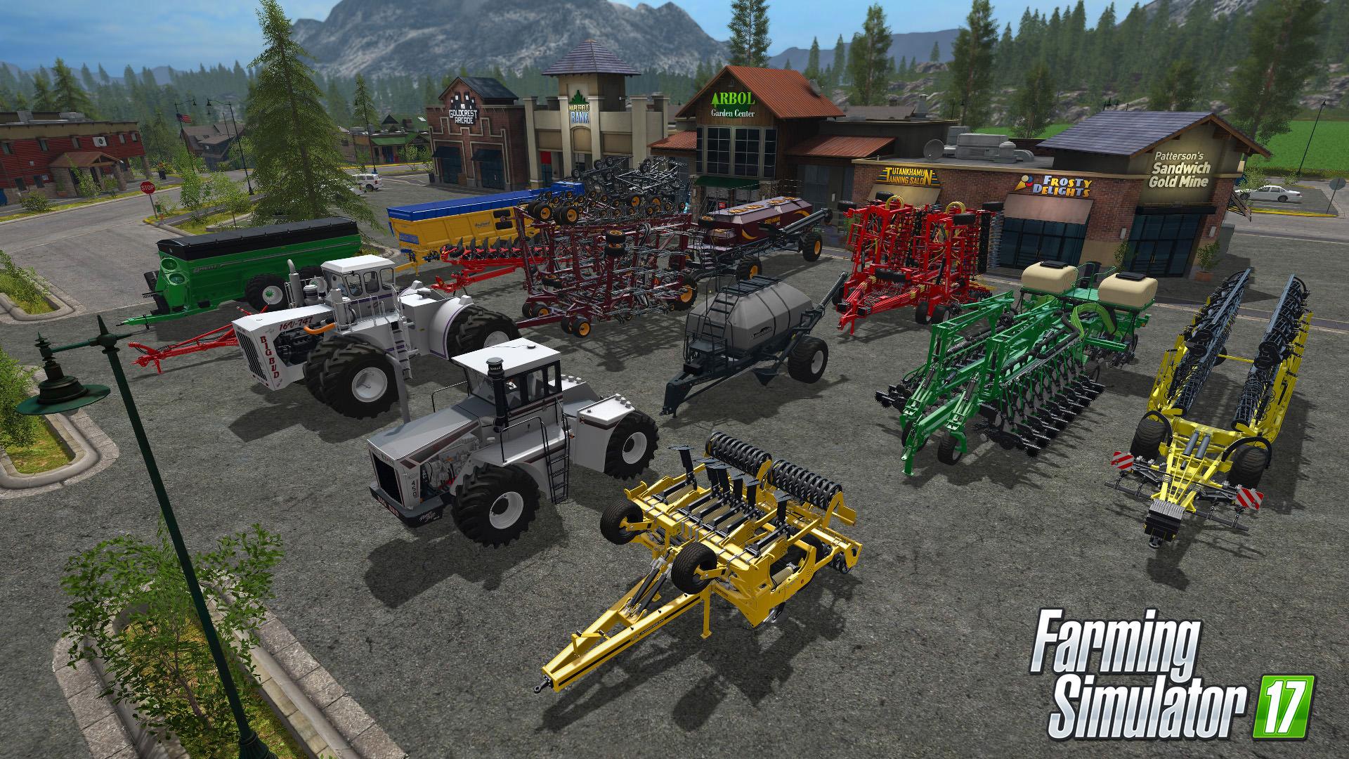 Farming Simulator 17 rozšíří placený balíček s velkými stroji 141242