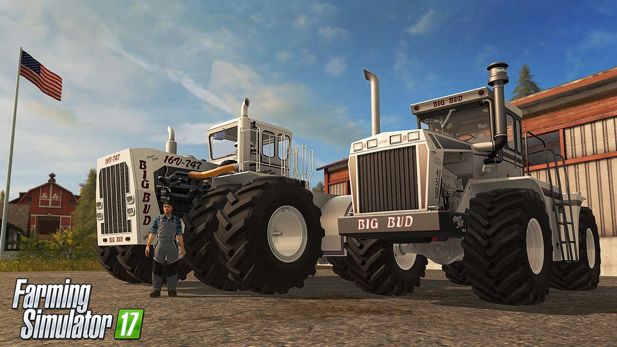 Farming Simulator 17 rozšíří placený balíček s velkými stroji 141243