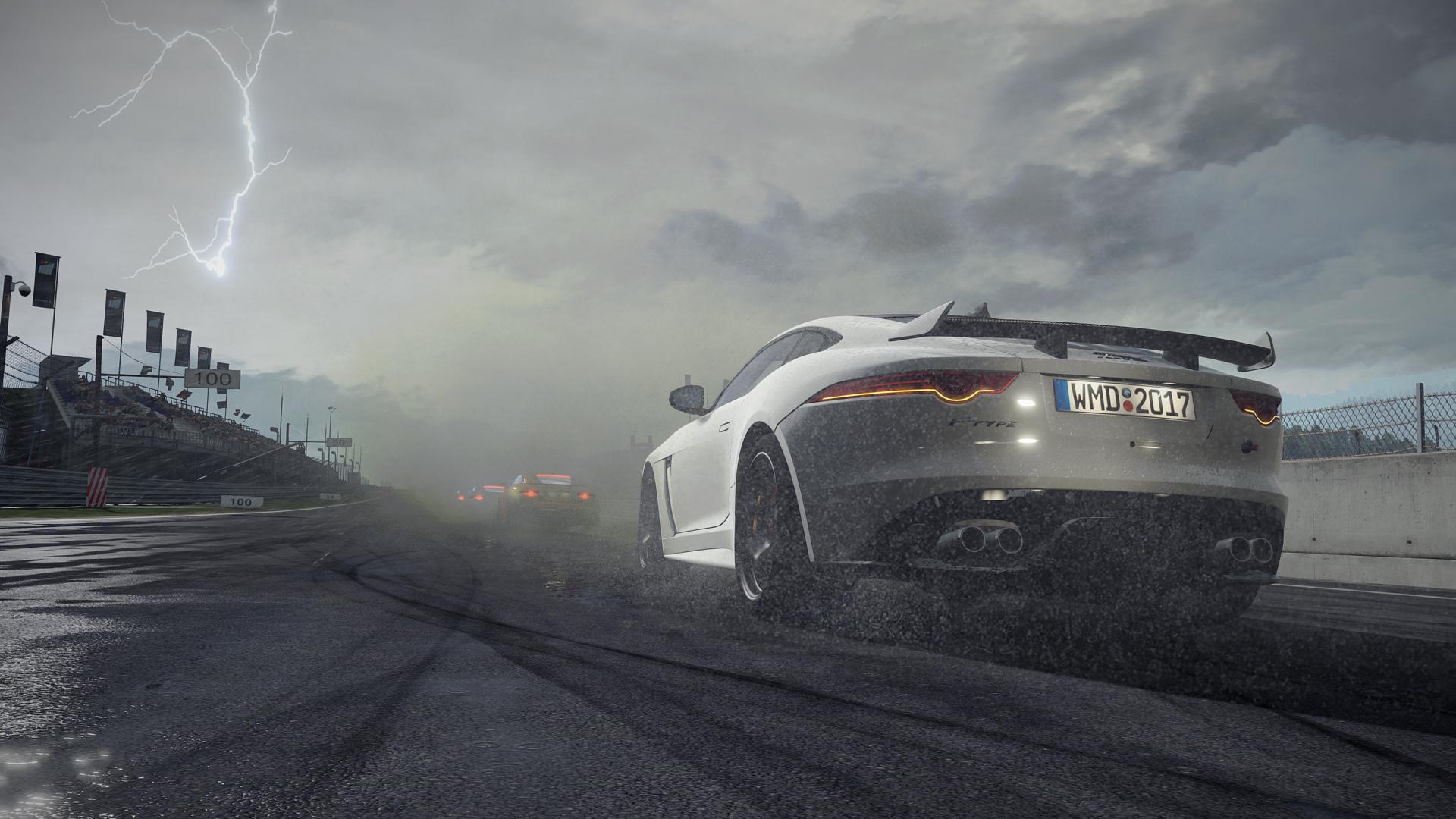 Obrazem: Bouřka nad závodní dráhou v Project Cars 2 141354