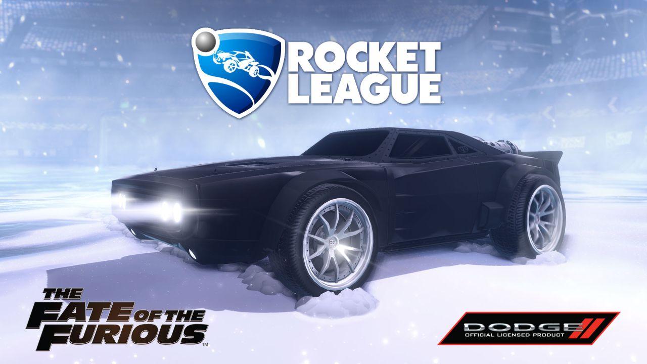 Fate of the Furious DLC do Rocket League 141374