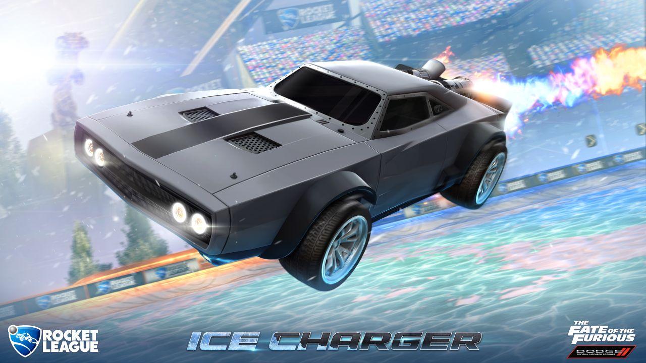 Fate of the Furious DLC do Rocket League 141375