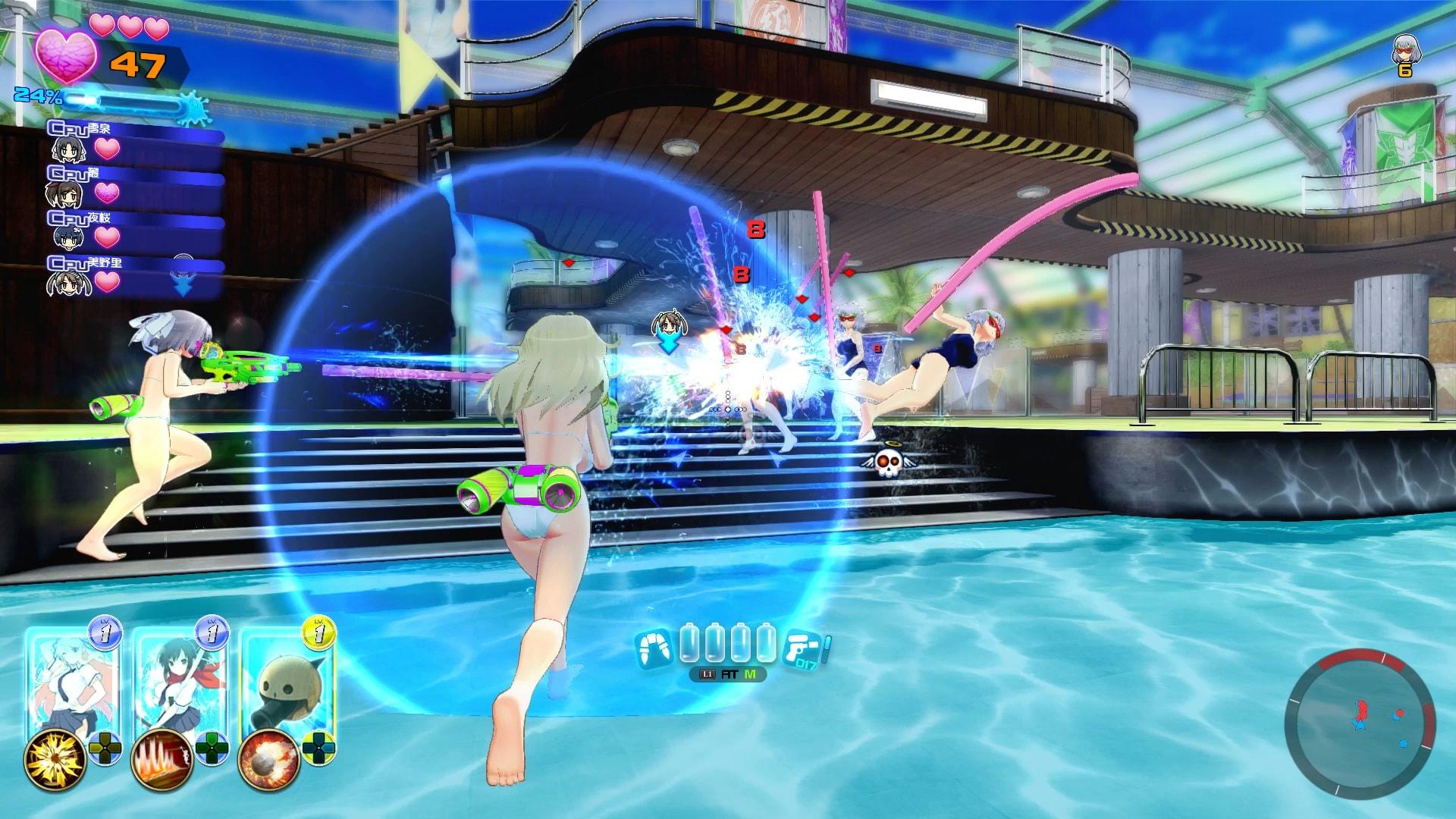 Spin-off Senran Kagura Peach Beach Splash už letos v létě! 141384