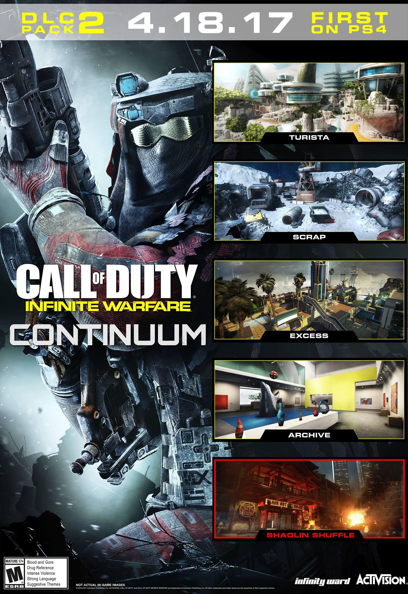 Představeno druhé rozšíření Call of Duty: Infinite Warfare 141495