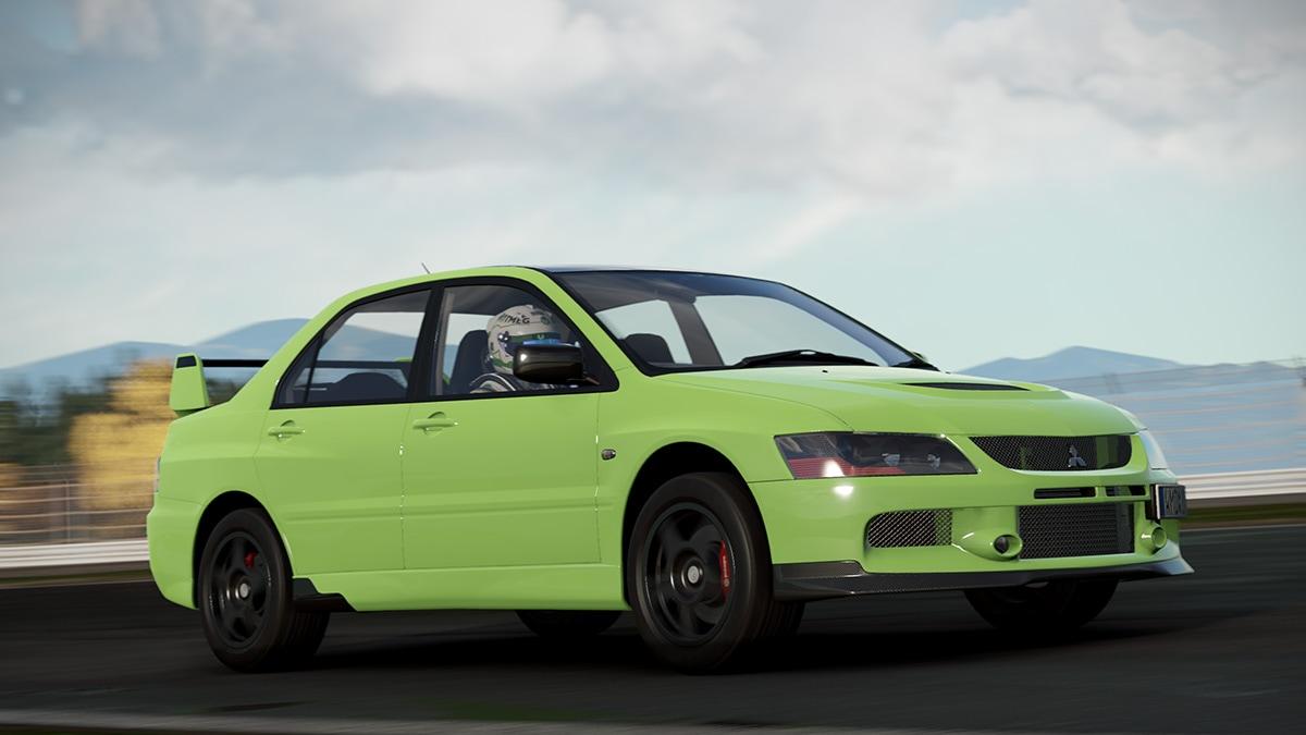 Čtyři modely Mitsubishi Evo v Project Cars 2 141505