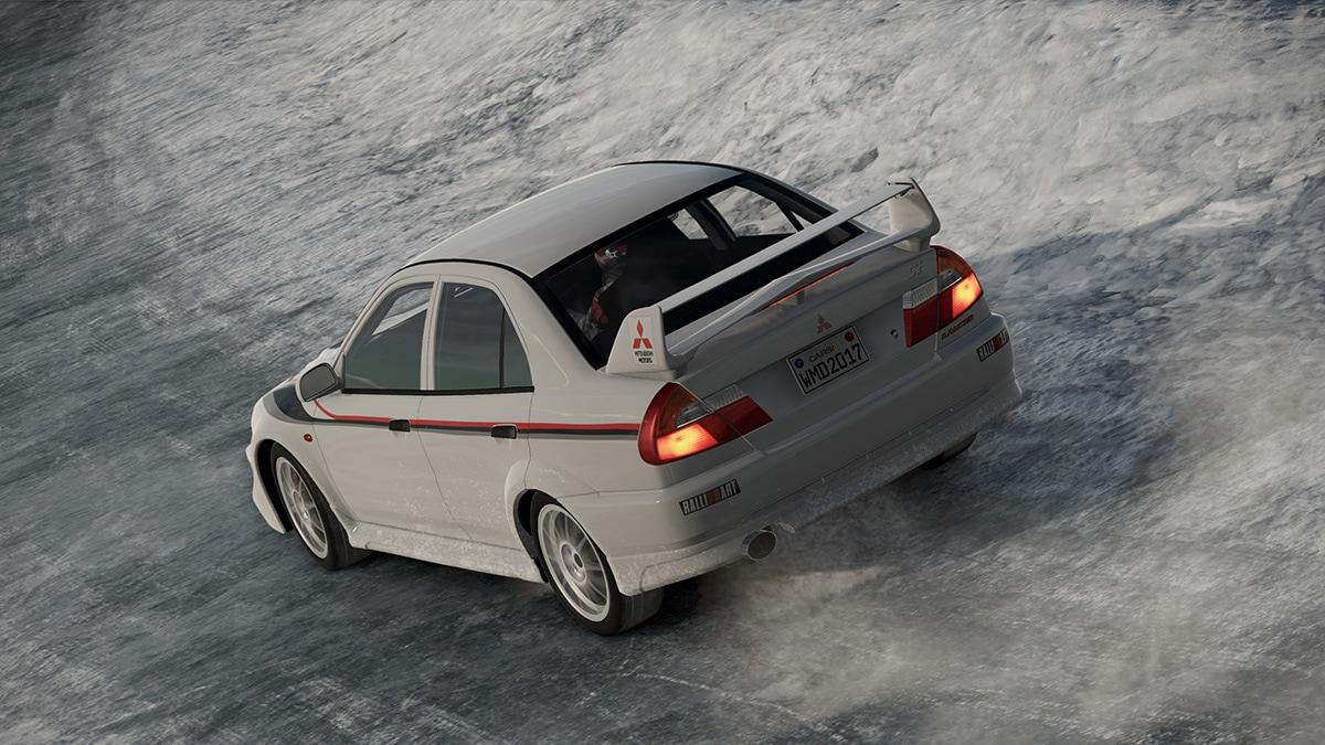 Čtyři modely Mitsubishi Evo v Project Cars 2 141508