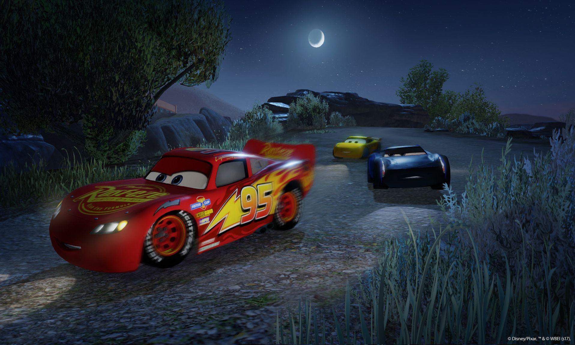 Závodní hra Auta 3 se koná po událostech z filmu 141541