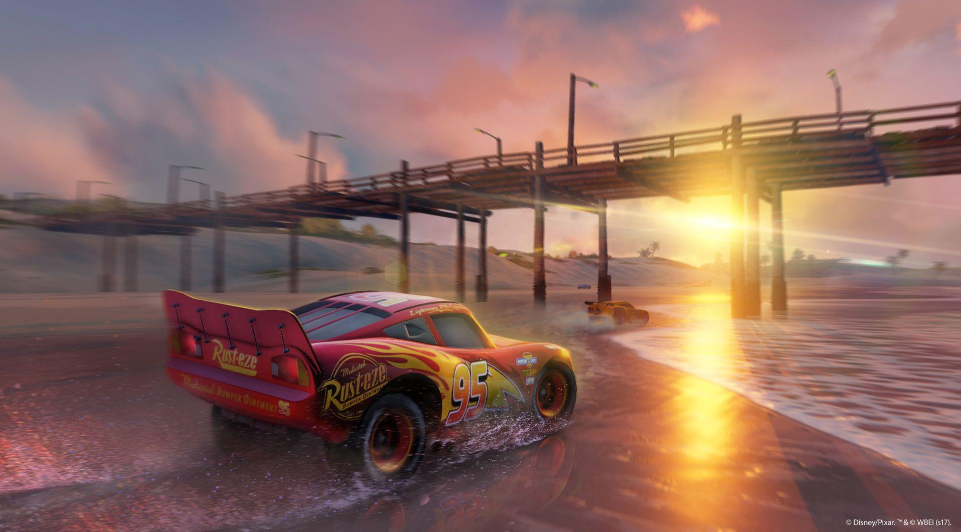 Závodní hra Auta 3 se koná po událostech z filmu 141542