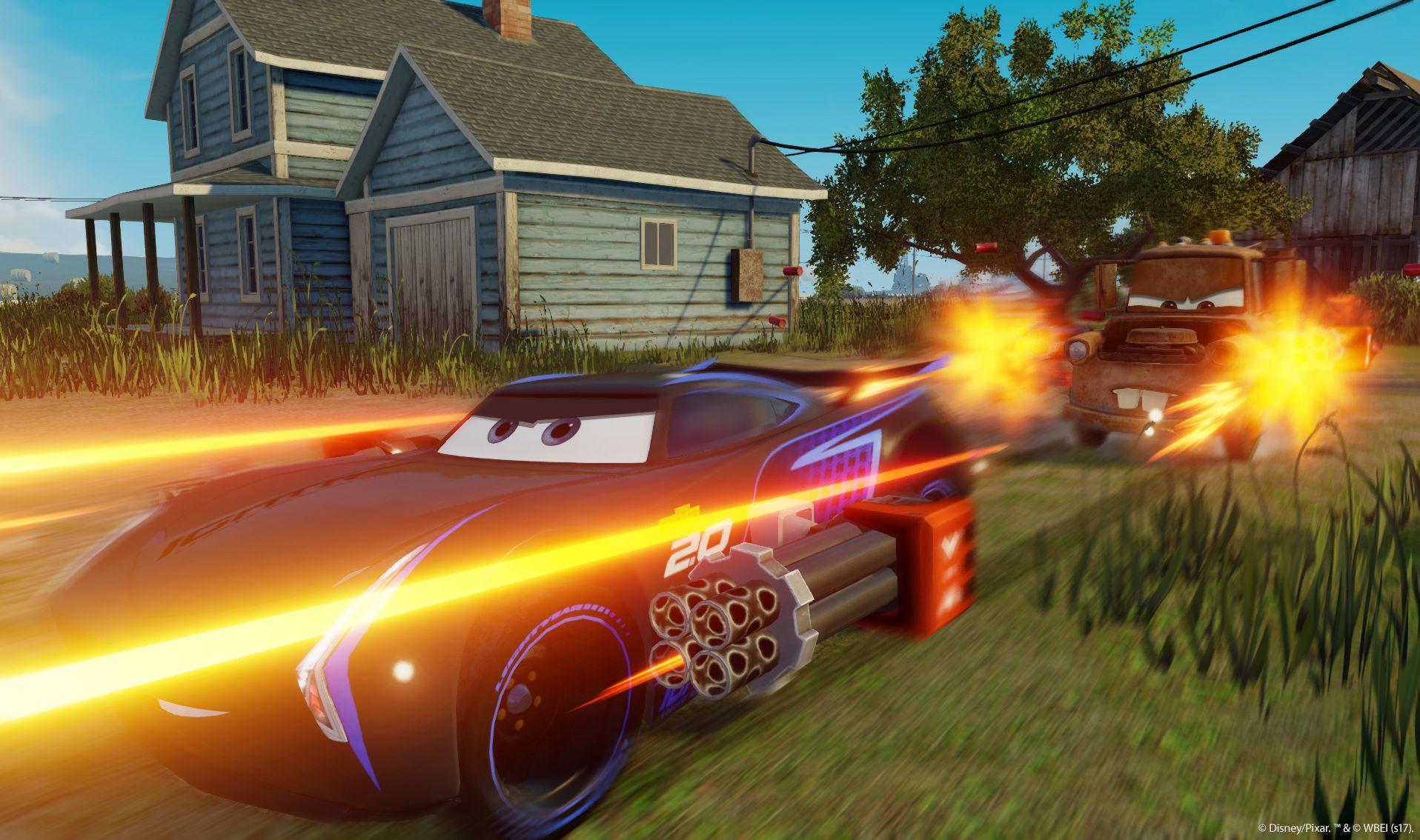 Závodní hra Auta 3 se koná po událostech z filmu 141544
