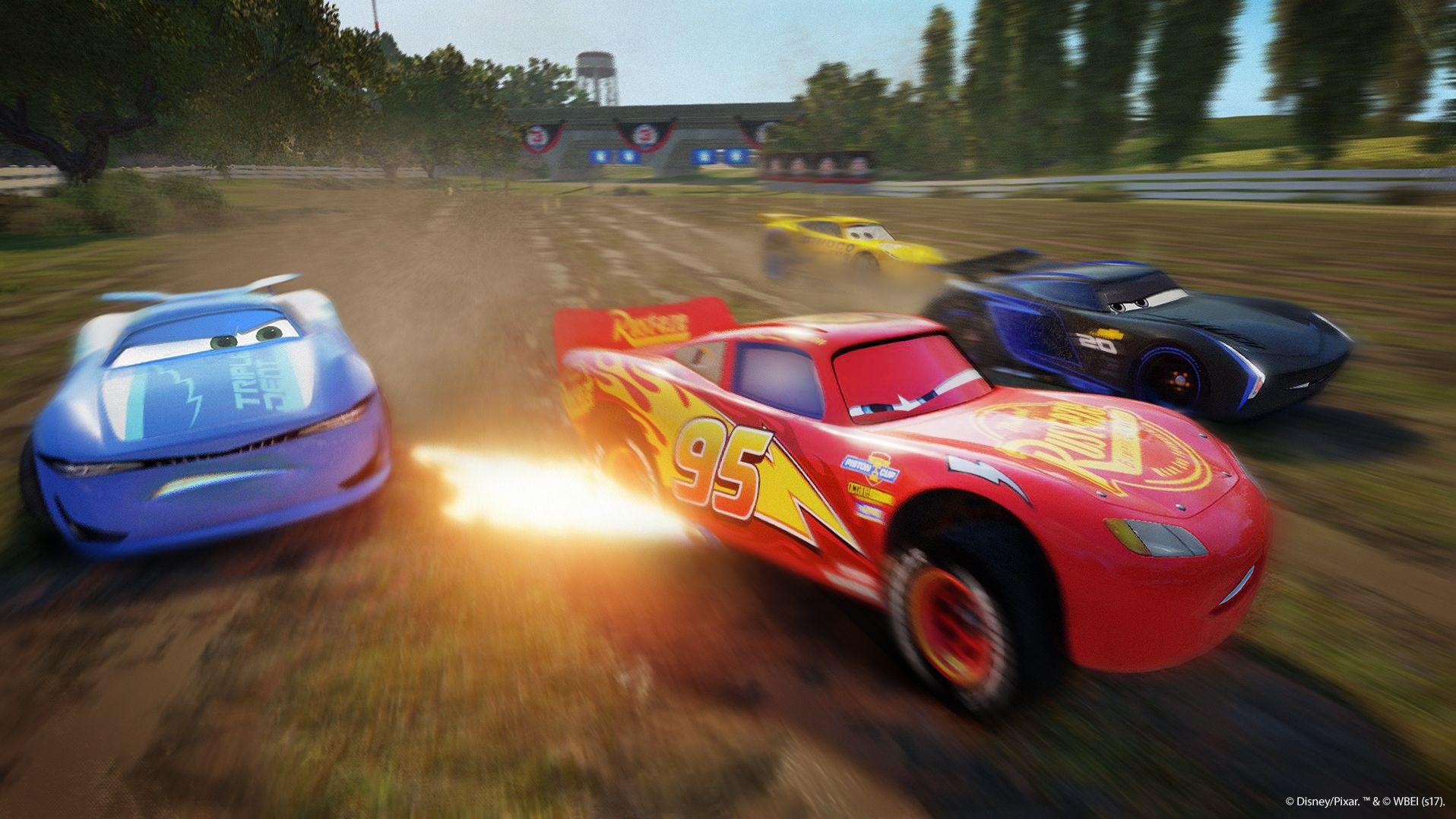 Závodní hra Auta 3 se koná po událostech z filmu 141545