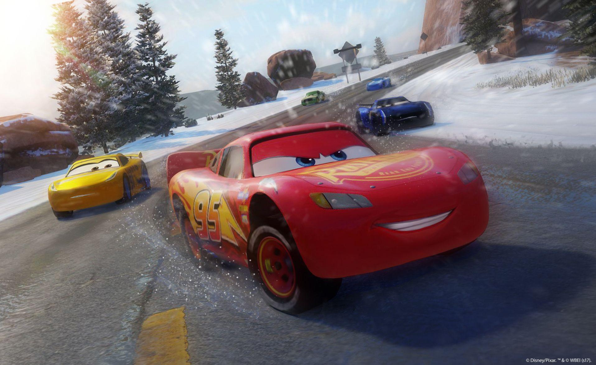 Závodní hra Auta 3 se koná po událostech z filmu 141547