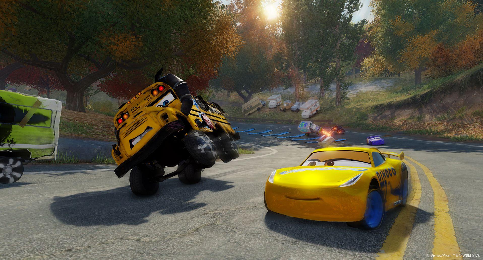 Závodní hra Auta 3 se koná po událostech z filmu 141548