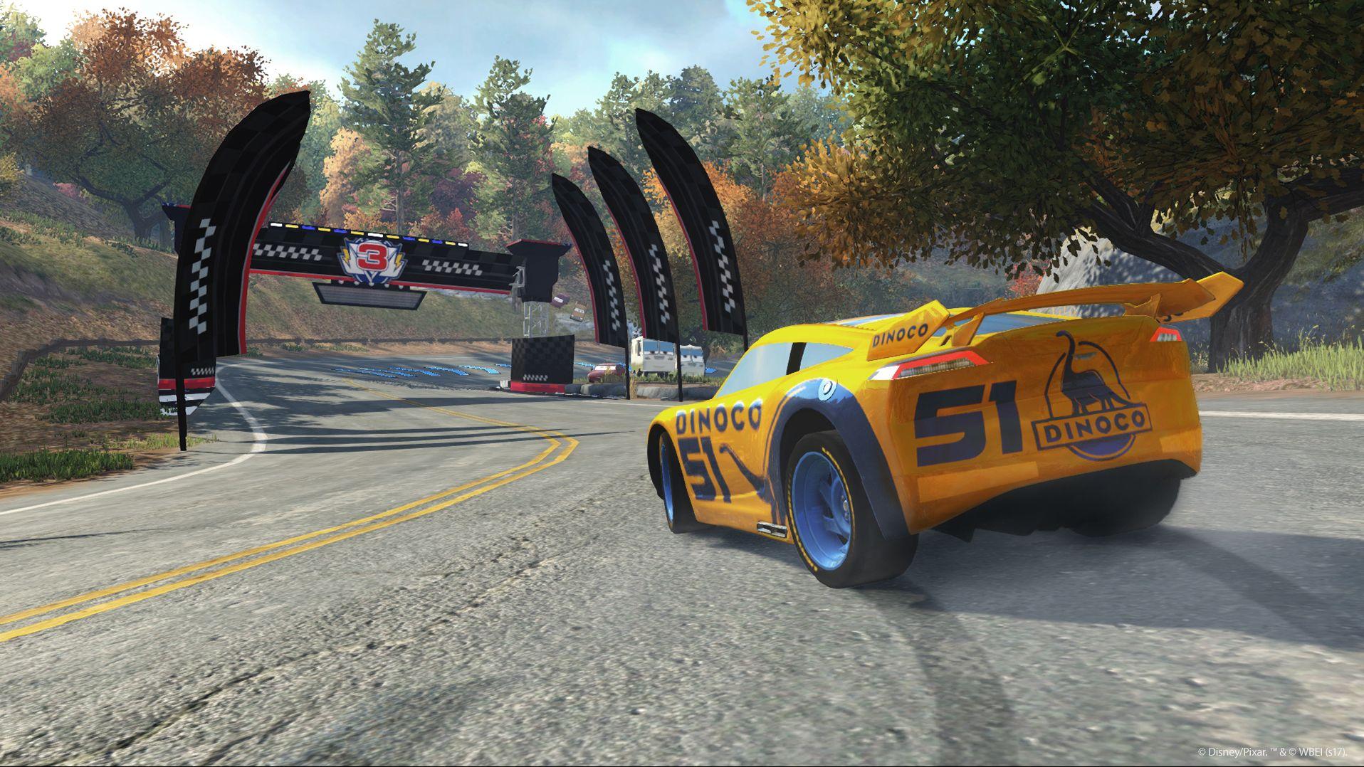 Závodní hra Auta 3 se koná po událostech z filmu 141550