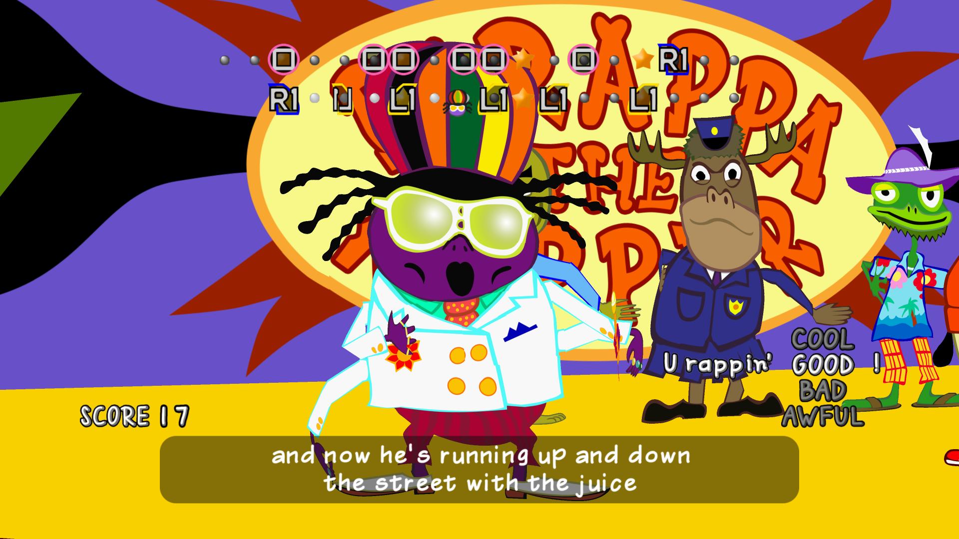 PaRappa the Rapper Remastered - legendární rytmy v novém kabátku 141691