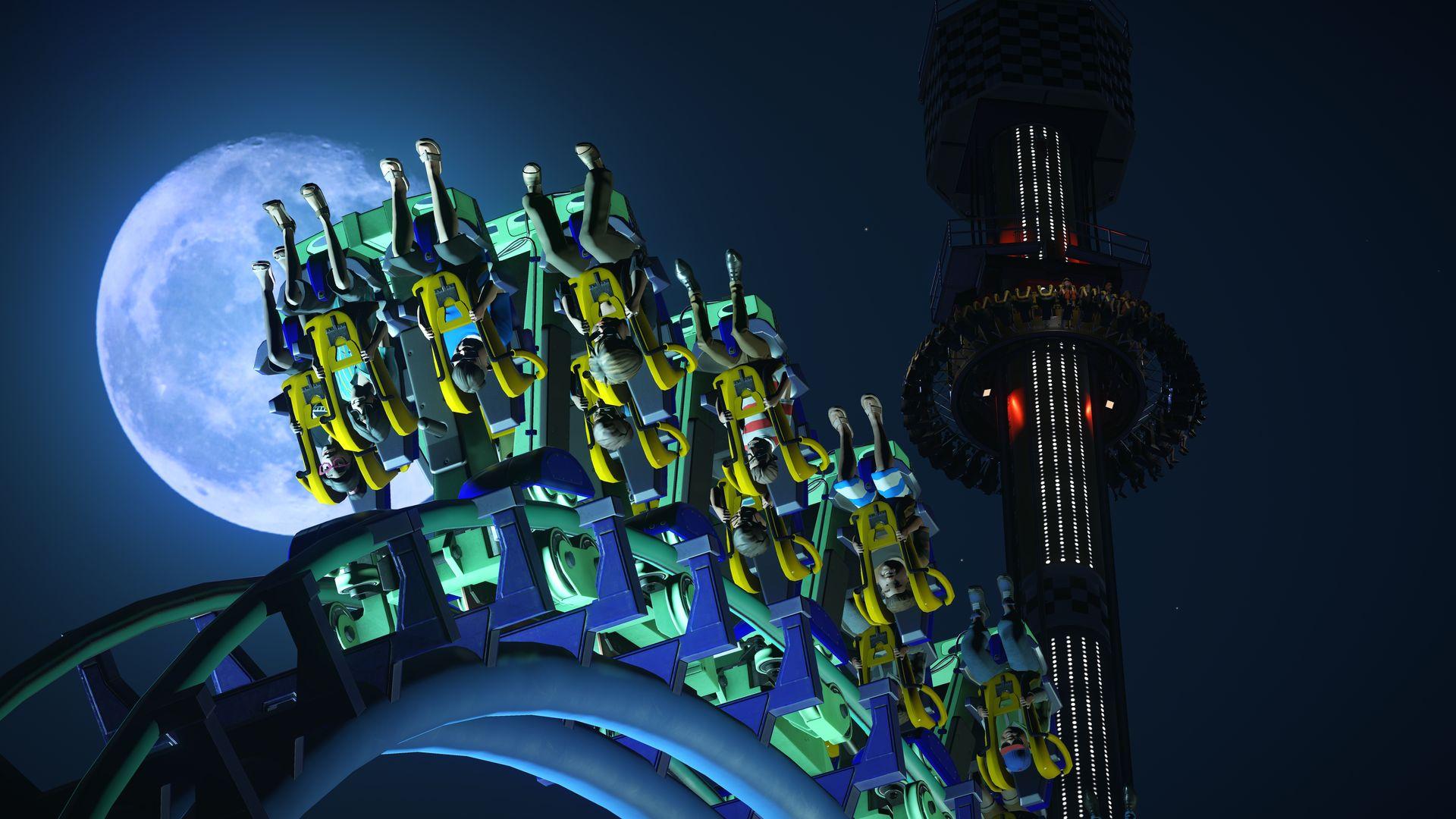 Nové horské dráhy, motokáry a kriminálníci v Planet Coaster 141832