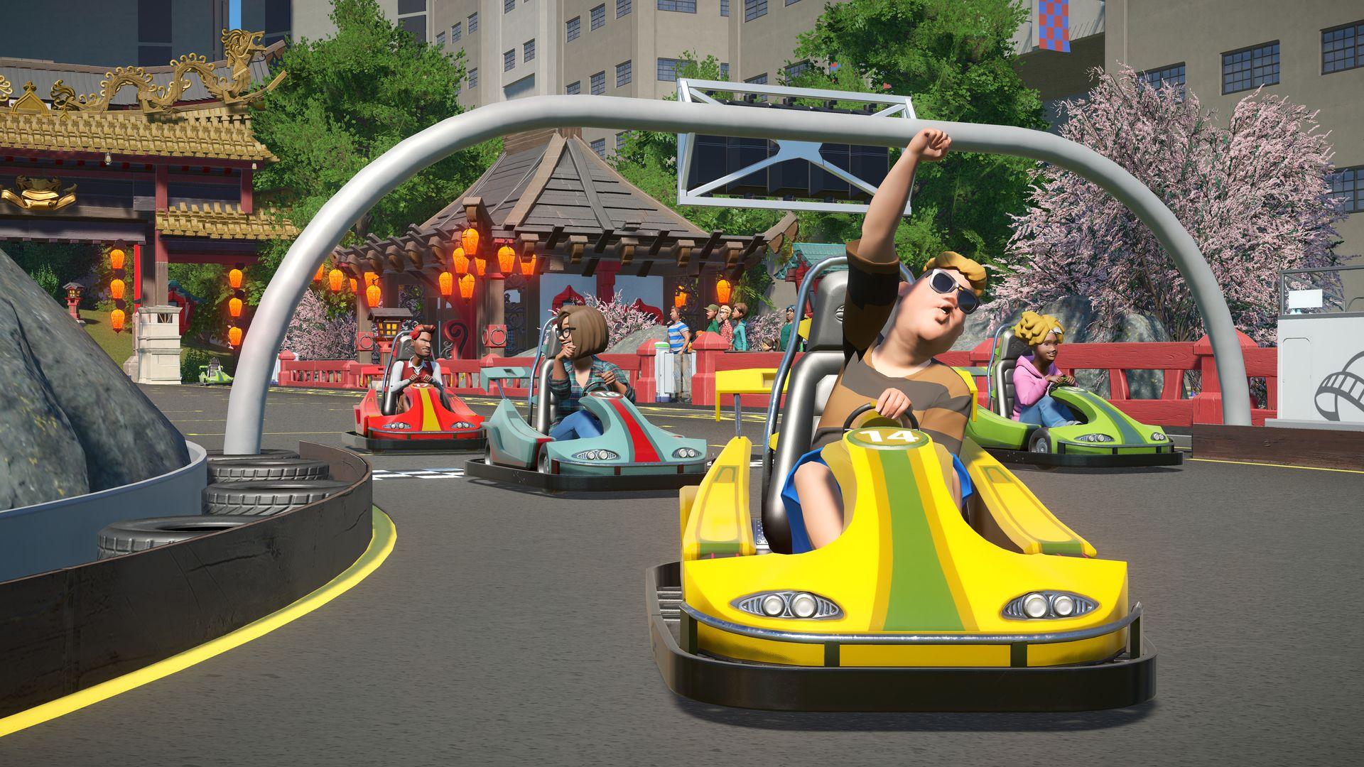 Nové horské dráhy, motokáry a kriminálníci v Planet Coaster 141835