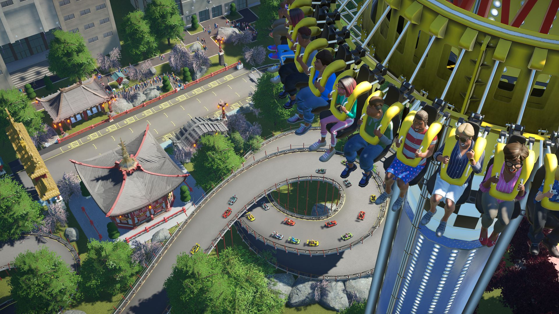 Nové horské dráhy, motokáry a kriminálníci v Planet Coaster 141836