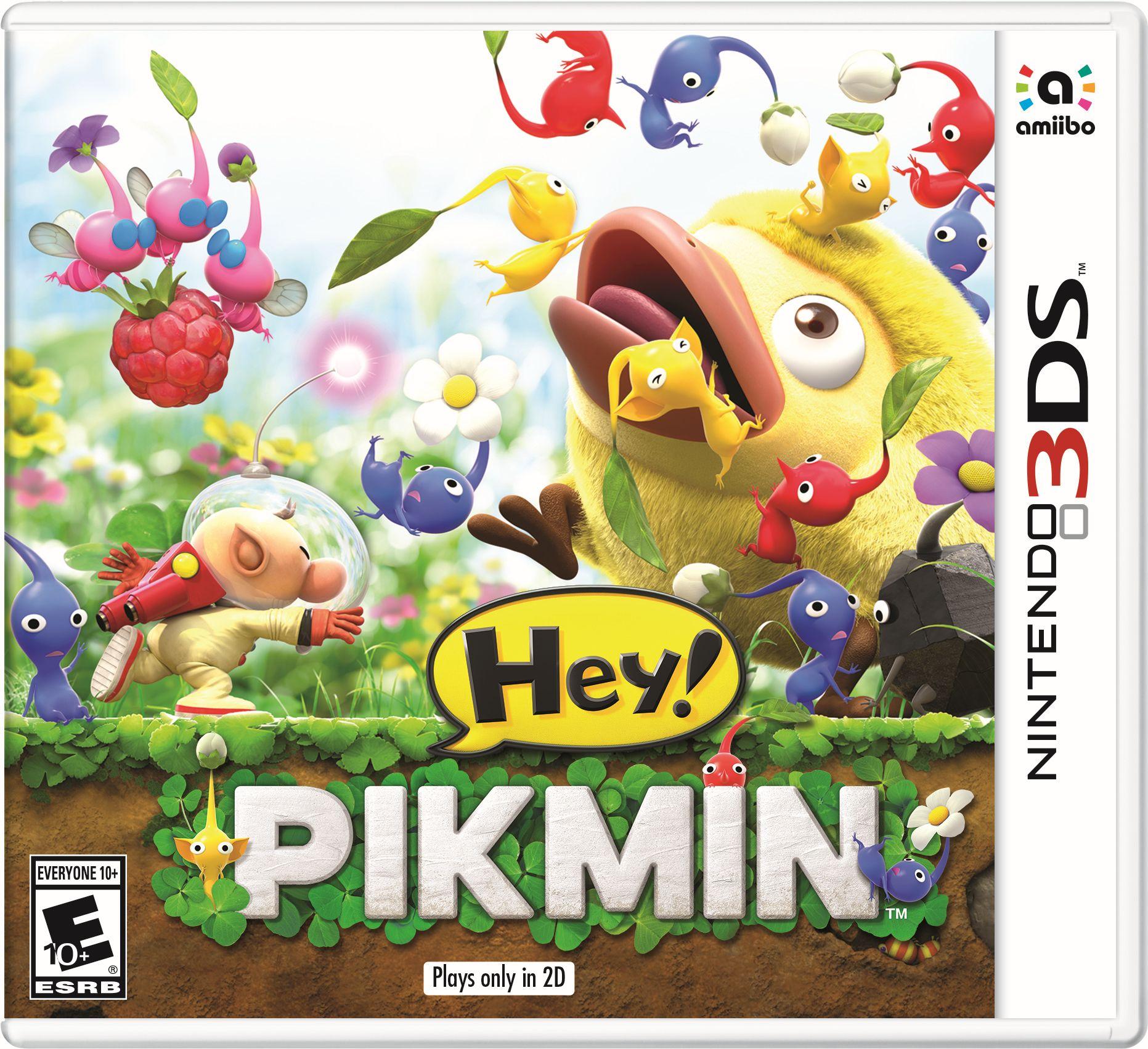Oznámena hra Hey! Pikmin pro 3DS 142002
