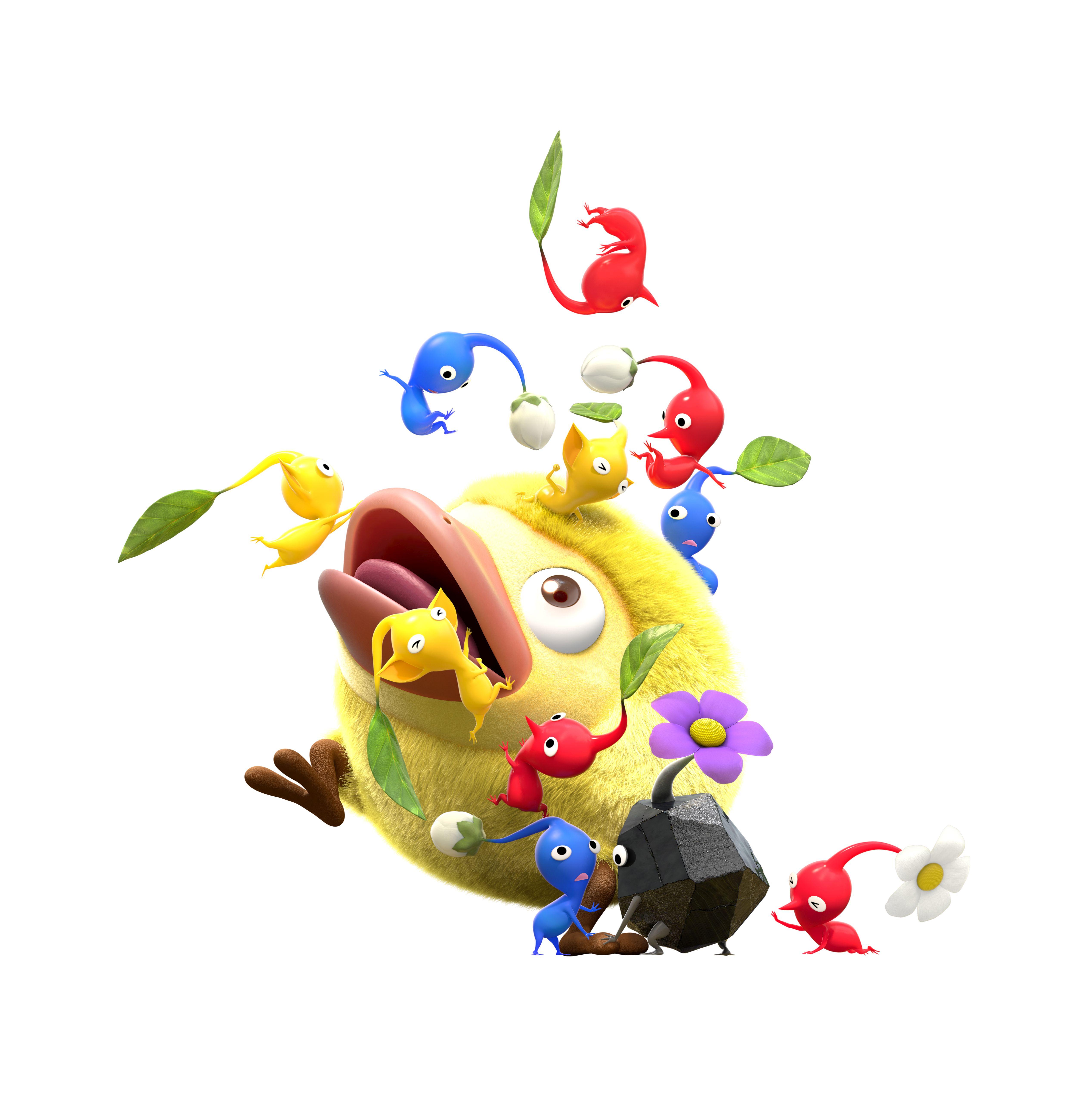 Oznámena hra Hey! Pikmin pro 3DS 142007