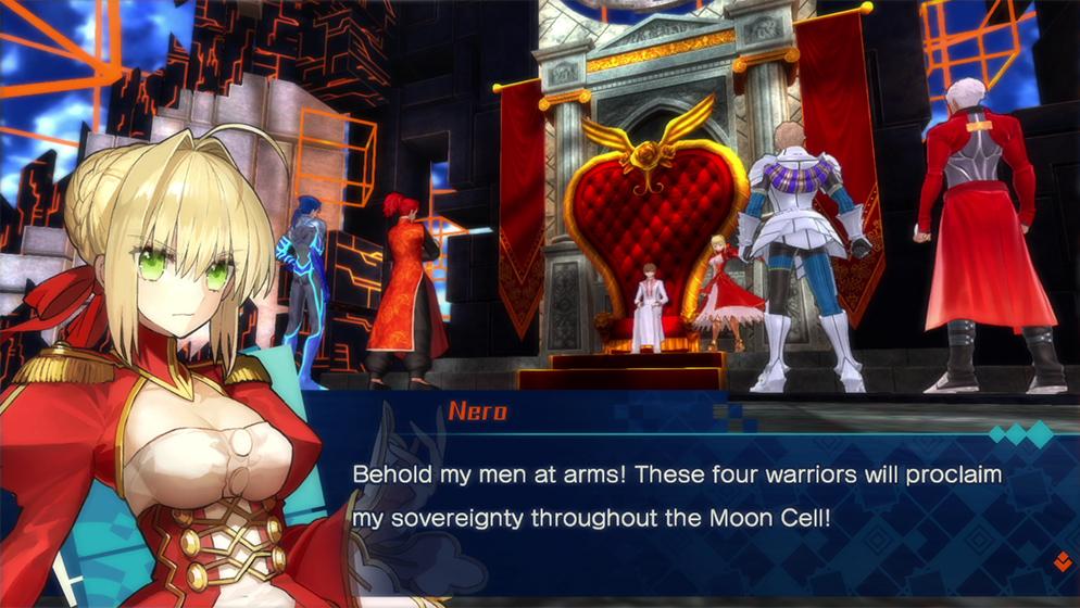 Příběh z Fate/Extella: The Umbral Star, vyprávěný ze 3 pohledů, doputuje na Switch 142119