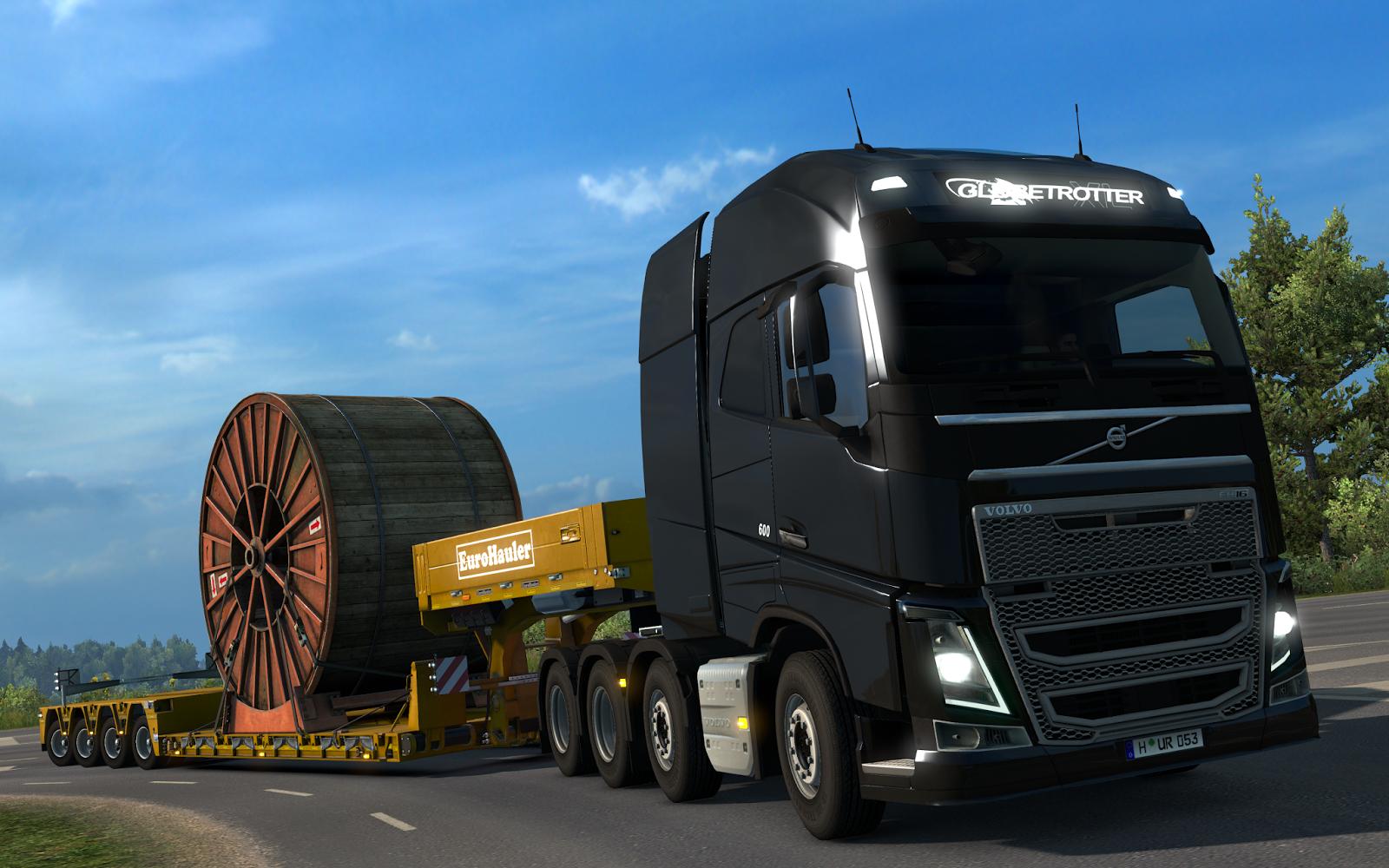 V Euro Truck Simulatoru 2 budete brzy převážet těžké náklady 142193