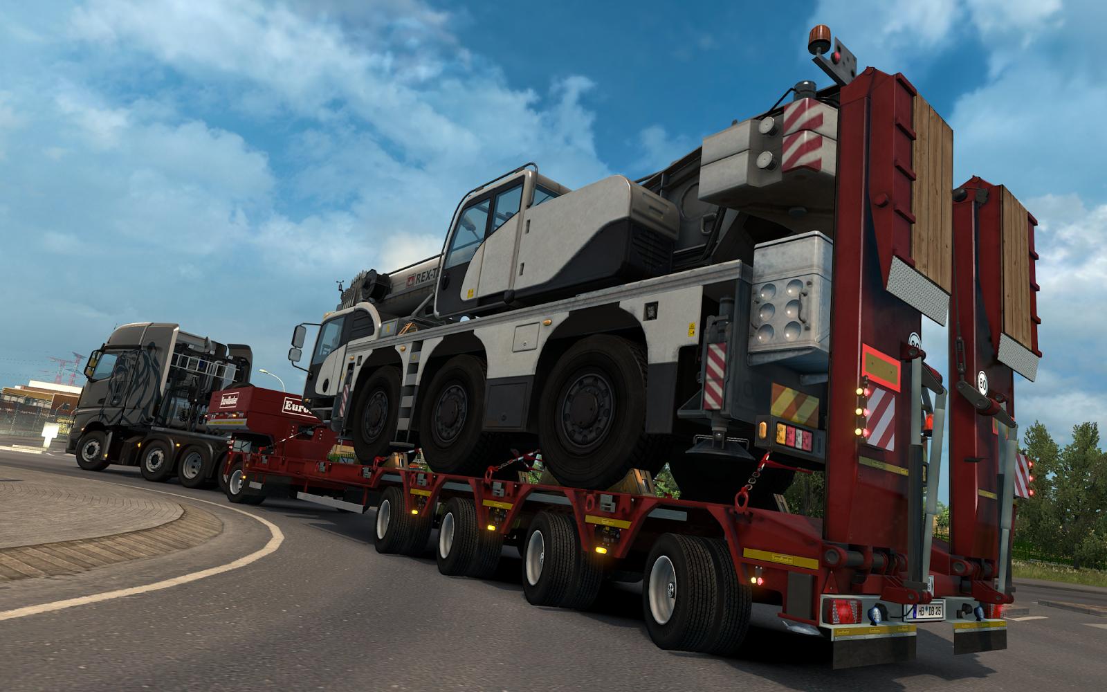 V Euro Truck Simulatoru 2 budete brzy převážet těžké náklady 142194