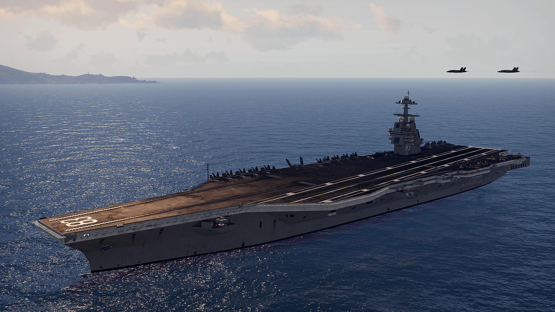Armu 3 obohatí letadlová loď 142196