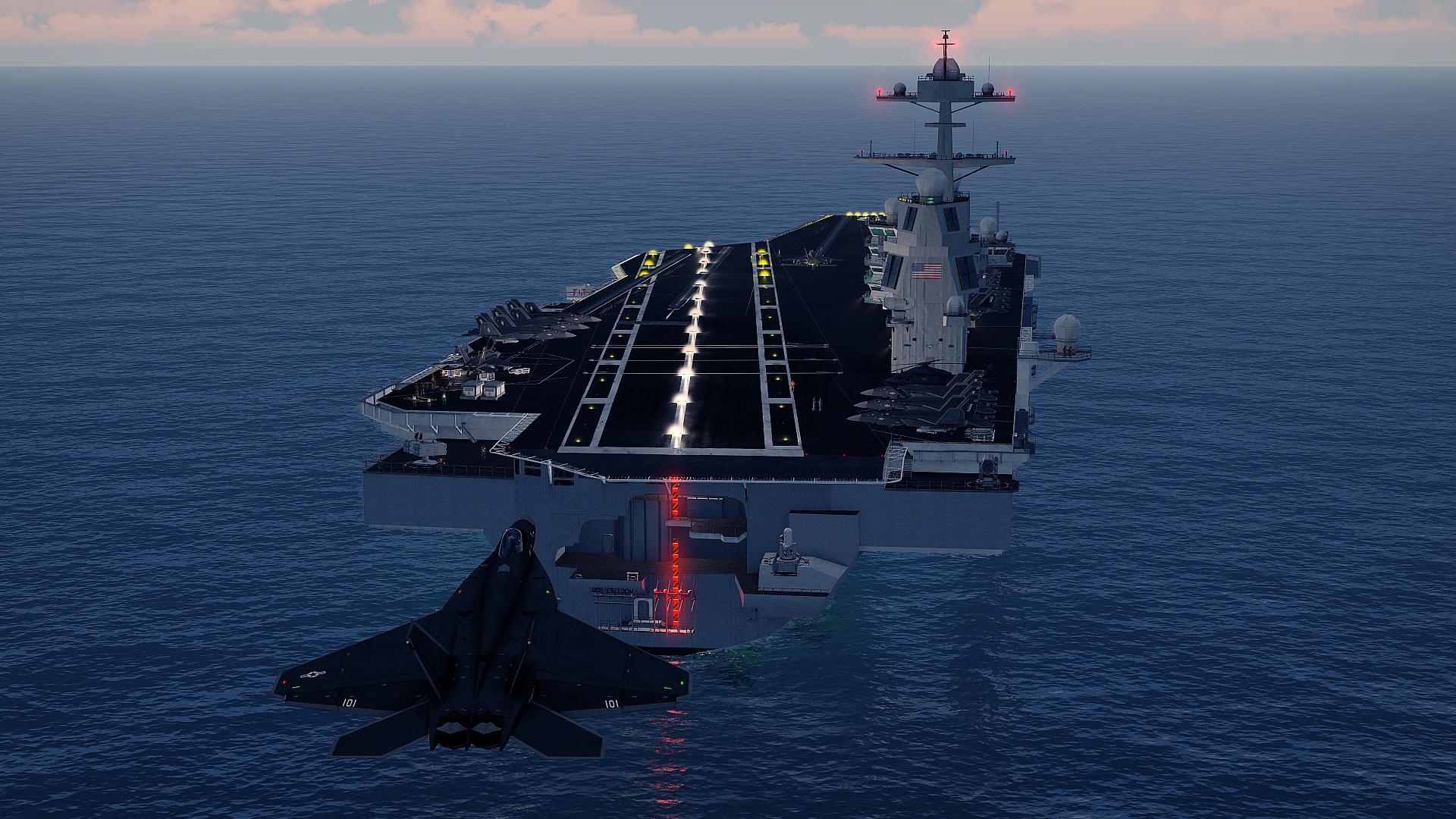 Armu 3 obohatí letadlová loď 142198
